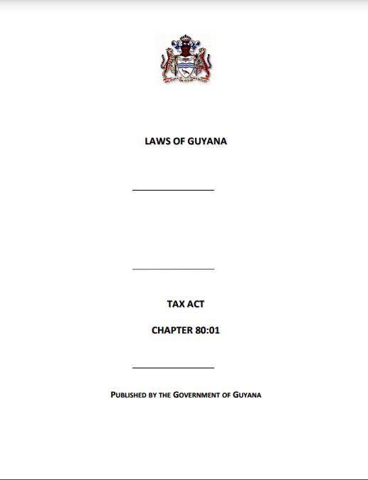 Tax Act 2020